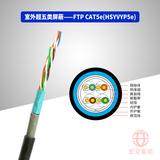 FTP CAT5e(HSYYP5e/ HSYVYP5e) 室外超五类屏蔽数字通信用水平对绞对称电缆