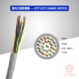UTP CAT3 24AWG HSYV-3 25×2×0.50