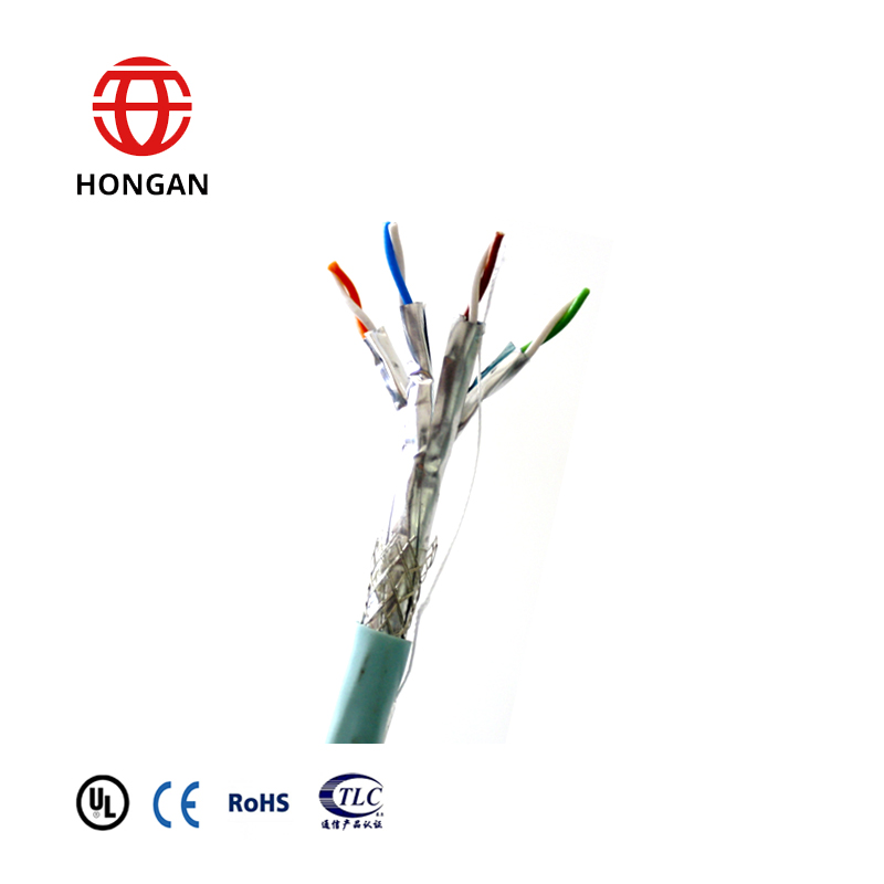 Indoor Symmetrical Pair Cables For Digital Communications Horizontal Floor Wiring-FTP Category 7A S/